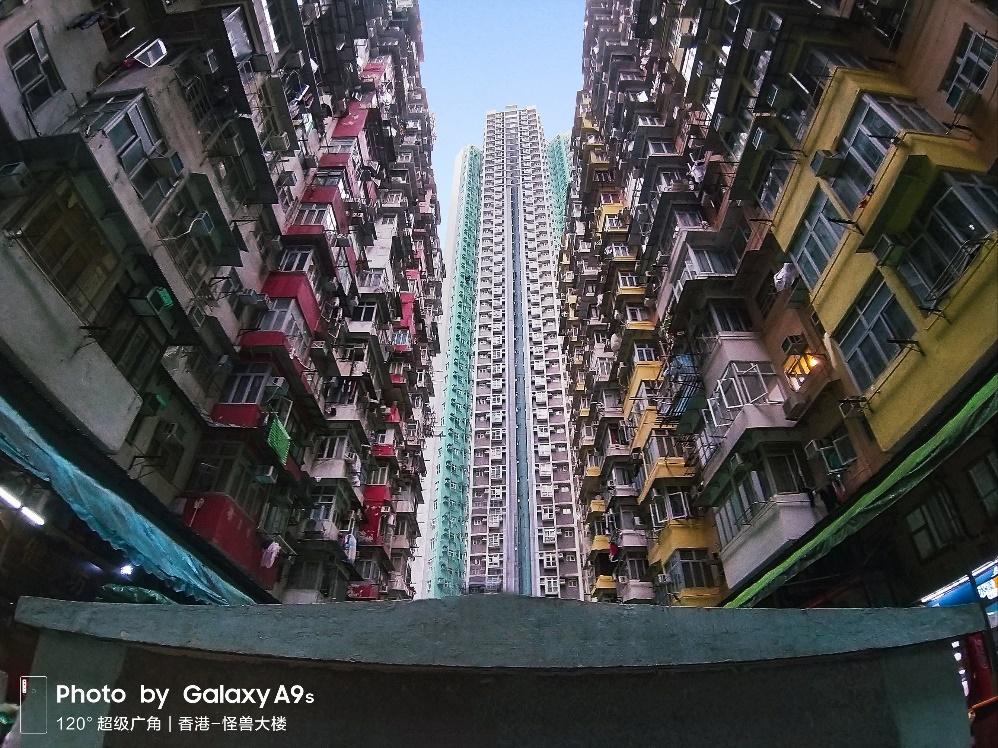 海山楼,海景楼,福昌楼,益昌大厦及益发大厦统称为怪兽大楼.