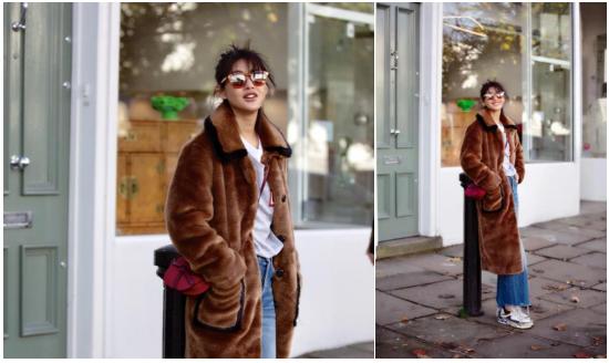 暖暖冬日如何穿出彩?看时尚Icon陈燃的点睛穿搭